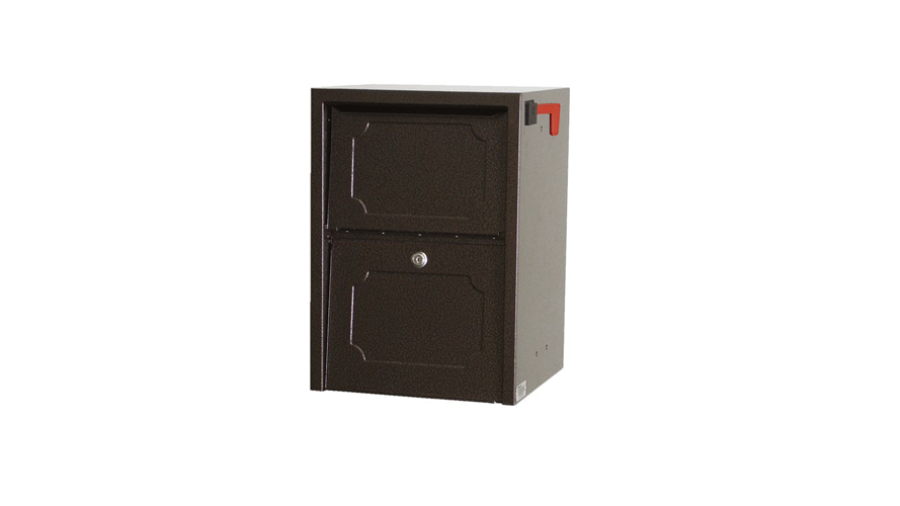 dVault® Weekend Away Vault Locking Post/Column Mount Mailbox